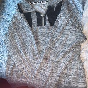 Women's Victoria's Secret pink grey hoodie